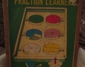 Vintage Shackman Fraction Learner No. 3427.  Made in Japan.  Y-231