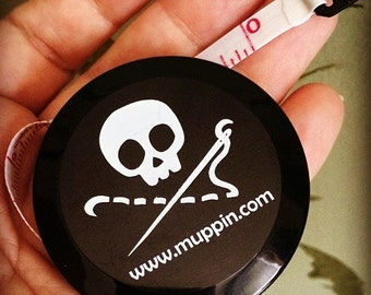 Sewing Skull Retractable Tape Measure