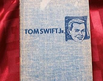 Tom Swift On The Phantom Satellite 1956 Victor Appleton Illustraed Graham Kaye Grosset & Dunlap Outer Space Rockets Travel Children's Book