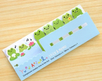 Frog Sticky Memo Notes