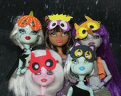 Monster H Printable Halloween Masks