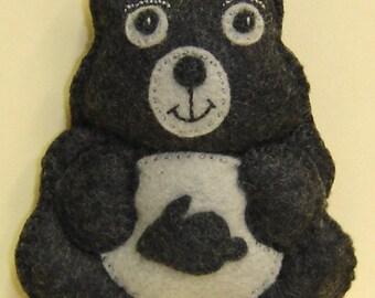 DUST BUNNY Bellie Bear by Tess Wentz of Tess Creates