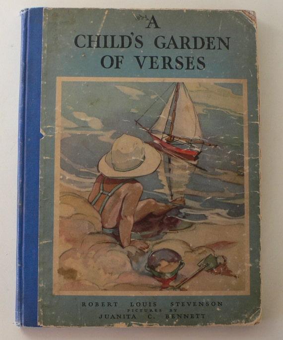 Vintage Book A Child 39 S Garden Of Verses By Robert Louis