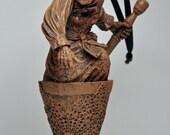 Baba Yaga Ornament