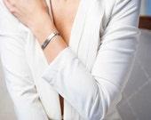 NAME BRACELET - Hand Engraved Custom Jewelry, Personalized Jewelry