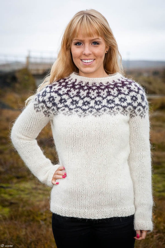Icelandic Sweater Knitting Pattern : Icelandic Lopi Sweater Winter is coming