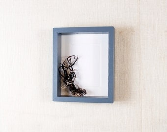 Deep Picture Frame 5x7 - Gray, Grey - Deep Frame, Open Box Frame