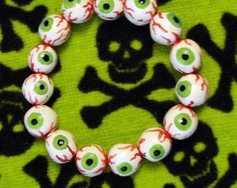 Eyeball Bracelet - Green