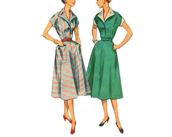 Popular Items For 50s Dress Pattern On Etsy