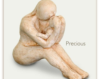 Mother and Child art sculpture -  special gift for new mom and mothers