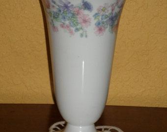 Wedgewood Vase/Angela/HANDPAINTED FLOWER VASE/Bone China
