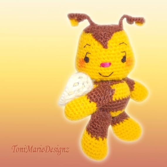Bumble Bee Crochet Pattern Italian Artist