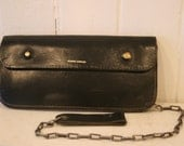 50's Leather Chain Wallet