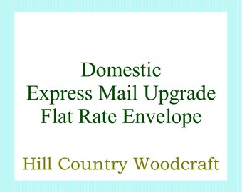 Express Mail Upgrade For Domestic Customers - Flat Rate Envelope