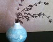 handmade ceramic ombre vase