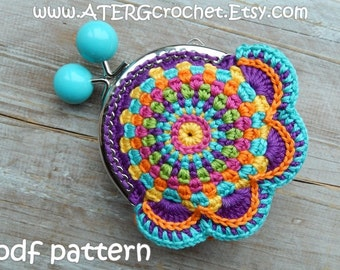 Crochet pattern PURSE by ATERGcrochet