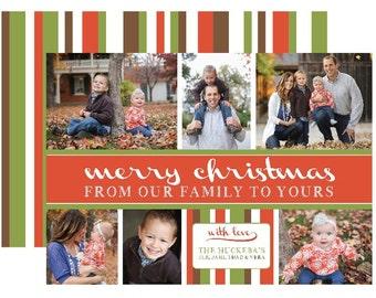 Multi-photo Christmas Card