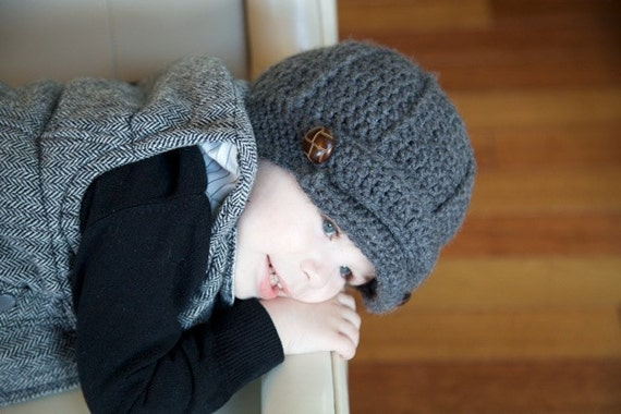 Crochet Hat Pattern For Year Old Boy Baby Girl Crochet Hats With