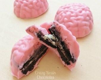 Chocolate Oreo Brains (6)