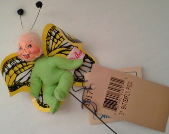 """Annalee 3"""" Butterfly or Ladybug Pick"""