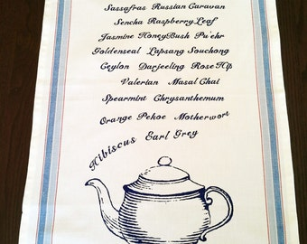 Tea Lovers Tea Towel and free gift wrap!