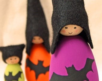 Cornish Pixie Elves - The Batty Family