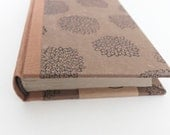 SALE Casebound Journal with Curved Spine and Handswen Headbands
