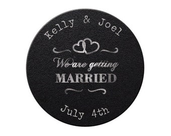 Wedding Save the Date, Save the Date, Wedding Announcement, getting married, Save the Date Magnet, Magnet, Custom, Personalized (3774)