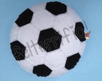 Handmade Soccer Ball Tooth Fairy Pillow