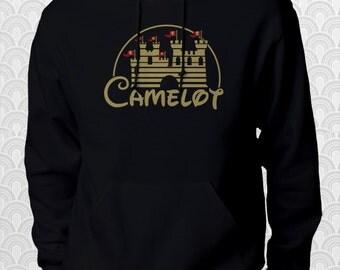 Camelot Merlin King Arthur Castle Hoodie Sweatshirt Sweater Shirt ADULT  sizes Geek Gift Book Movie TV Great Christmas gift