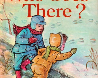 Who Goes There? - a vintage picture book by Janet and Alex D'amato