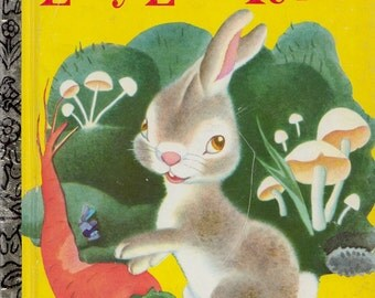 The Lively Little Rabbit by Ariane, illustrated by Gustaf Tenggren (A Golden Book)