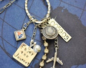 Custom, Made to Order Retirement, Achievement, Commemoration, Commendation Jewelry, Charm Necklace, Business Gift