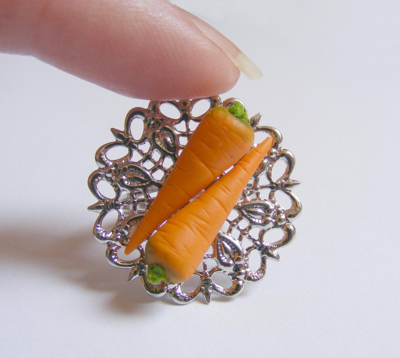 Carrot Ring Joke Two Carrots/carats Ring