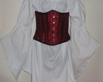 MTO half length medieval gathered angle sleeve chemise ladies