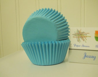 Baby Blue Standard Baking Cups