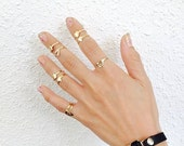 Midi ring , Little square ring for the upper knuckle, or your Pinkie.