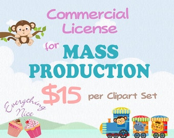Commercial License for MASS PRODUCTION