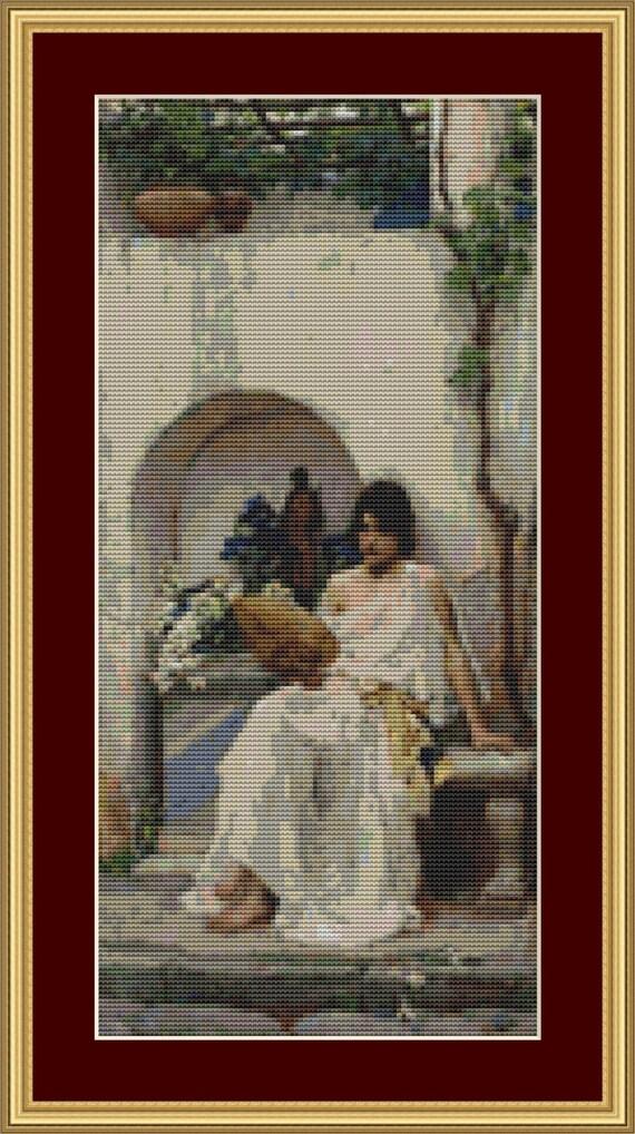 Flora Cross Stitch Pattern /Digital PDF Files /Instant downloadable
