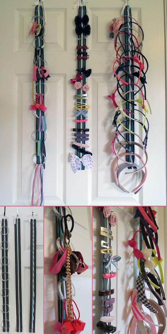 hair accessory organizer system with elastic hair elastics. Black Bedroom Furniture Sets. Home Design Ideas