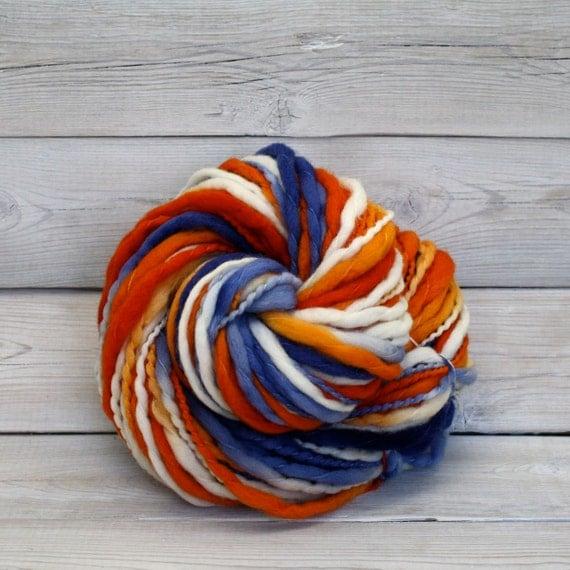 Hand Dyed Thick-n-Thin Merino Wool Bulky Chunky