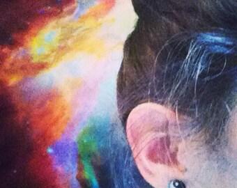 Yin Yang Stud Earrings