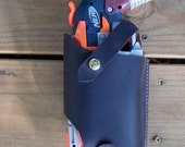 Handcrafted Leather Nerf Hammershot Tactical Holster