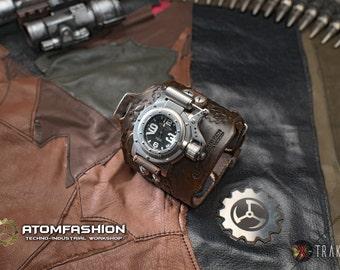 Men's steampunk watch 'Nemo'