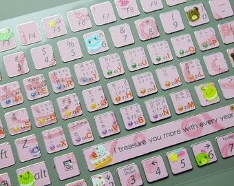 Korean keyboard | Etsy