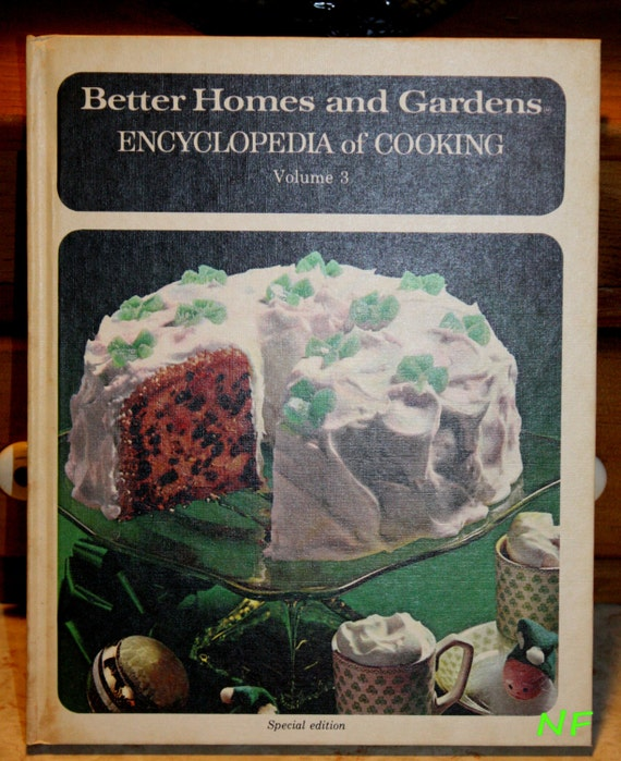 1973 Better Homes and Gardens Encyclopedia of cooking 20 volume cook book set