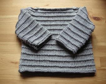 Baby sailor sweater