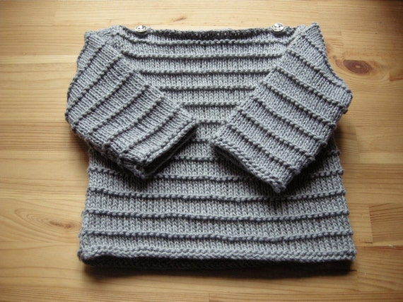 Baby sailor sweater