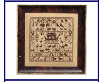 Into The Ark (BRD-051) Cross Stitch Design
