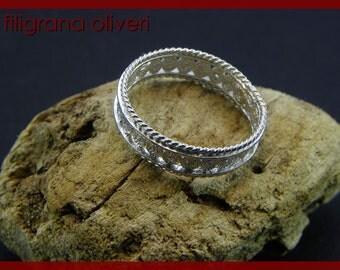 Ring in Silver filigree